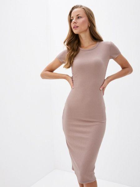 Платье прямое бежевое Trendyangel