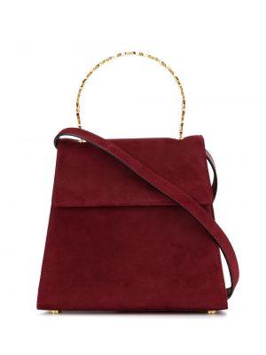 Золотистая красная сумка Salvatore Ferragamo Pre-owned