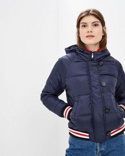 Утепленная куртка - синяя Jennyfer