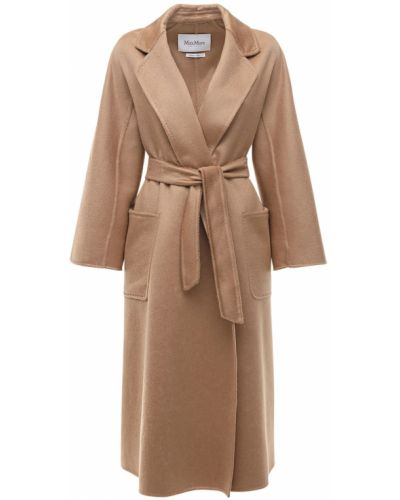 Кашемировое пальто - коричневое Max Mara