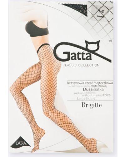 Носки однотонные с узором Gatta