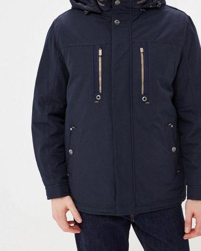 Утепленная куртка демисезонная синяя Vizani