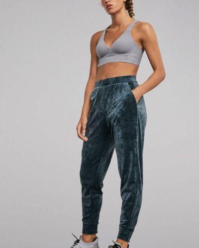 Спортивные брюки синие Oysho