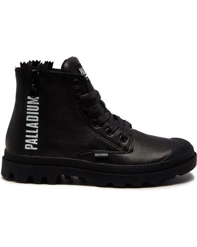 Черные кожаные ботинки с подкладкой Palladium