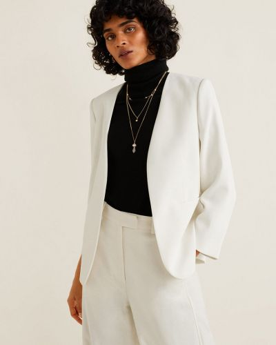 Пиджак прямой с карманами Mango