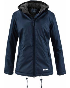 Куртка с капюшоном демисезонная спортивная Bonprix