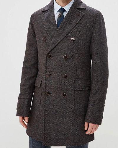 Коричневое пальто осеннее Bazioni
