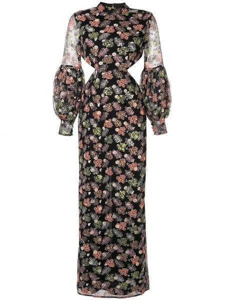 Платье на пуговицах с цветочным принтом Alice Mccall