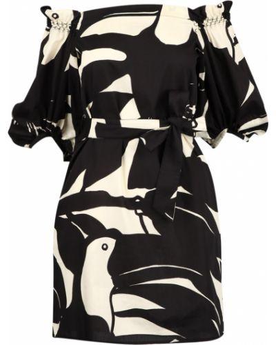 Czarna sukienka Suoli
