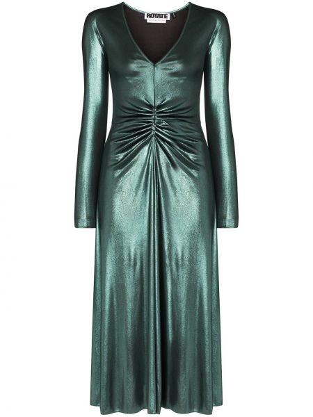 Платье миди зеленый Rotate
