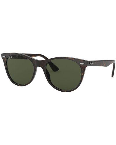 Солнцезащитные очки стеклянные круглые Ray-ban