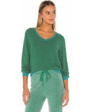 Sweter przeoczenie zielony Wildfox Couture