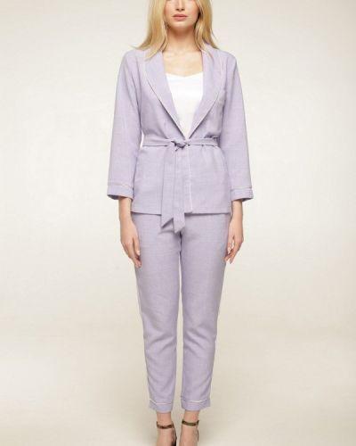 Фиолетовый брючный костюм Lavana Fashion