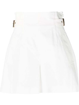 Хлопковые шорты - белые Alberta Ferretti