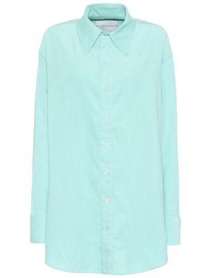 Klasyczna zielona koszula bawełniana Matthew Adams Dolan