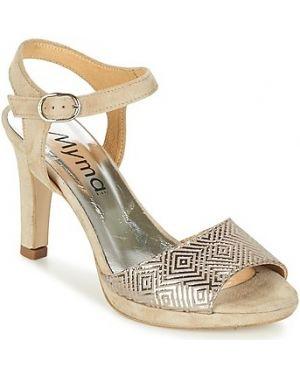 Beżowe sandały Myma