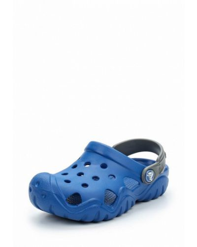 Синее сабо 2018 Crocs