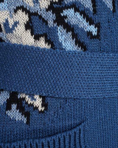 Кардиган джинсовый из ангоры Maison Kaleidoscope