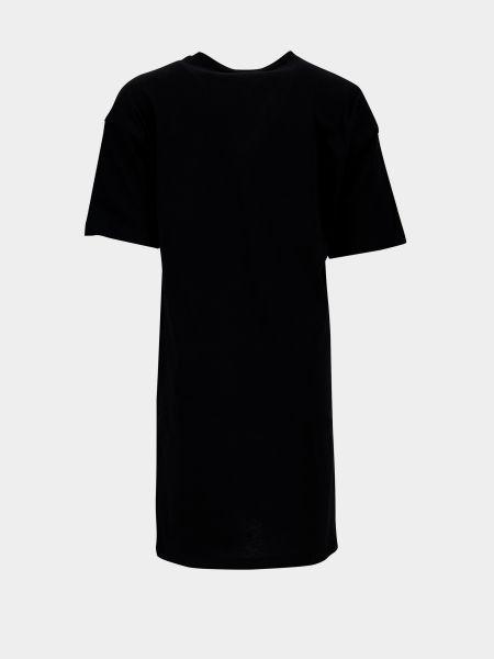 Платье мини короткое - черное Defacto