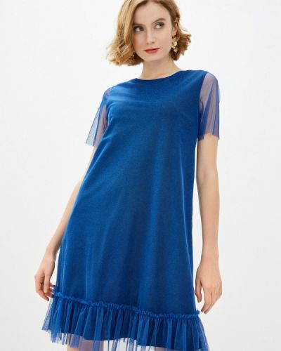 Синее вечернее платье Am One