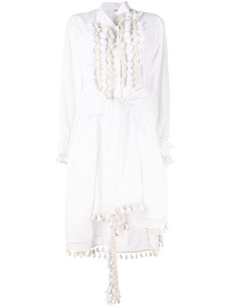 Платье на пуговицах платье-рубашка Loewe