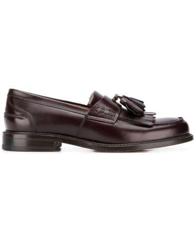 Лоферы с кисточками Berwick Shoes