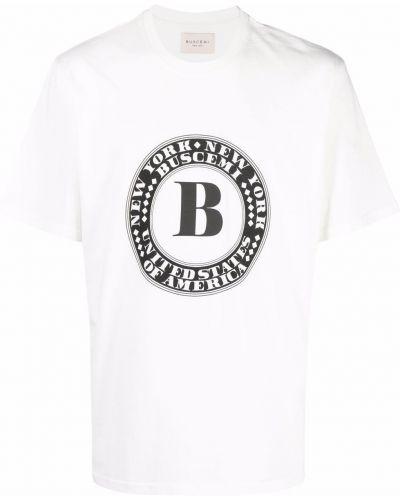 Biała t-shirt bawełniana Buscemi