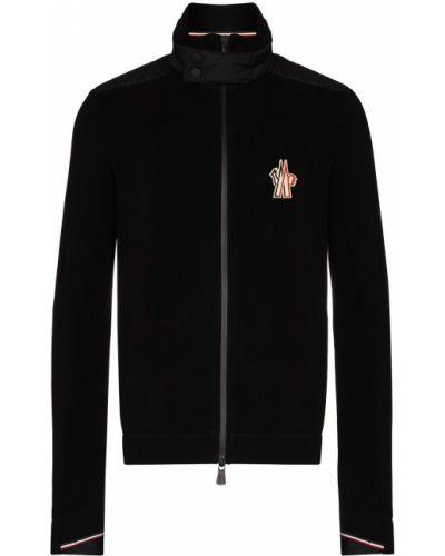 Czarna bluza z długimi rękawami Moncler Grenoble