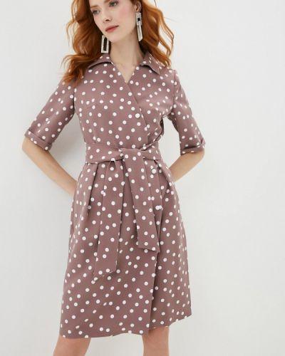 Платье - коричневое Shovsvaro