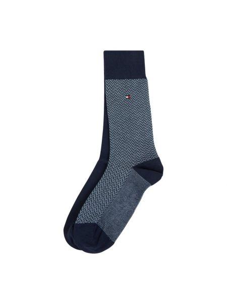 Bawełna bawełna niebieski skarpety na gumce Tommy Hilfiger