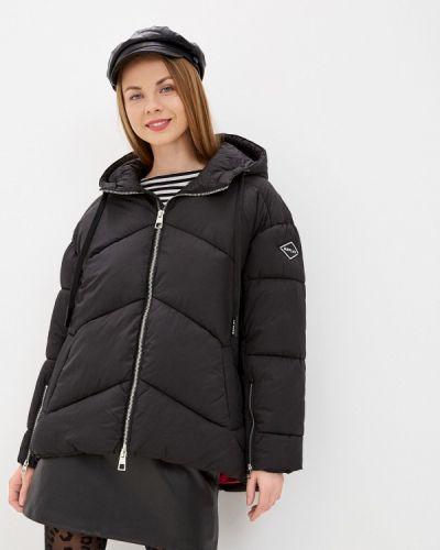 Утепленная черная куртка Replay