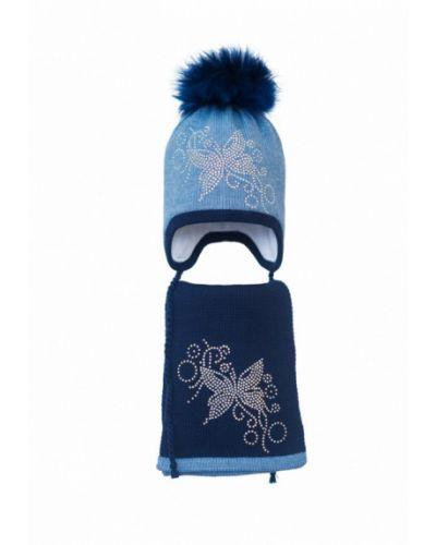 Синяя шапка Hatty