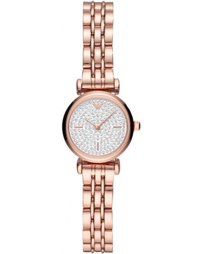 Złoty zegarek kwarcowy Emporio Armani
