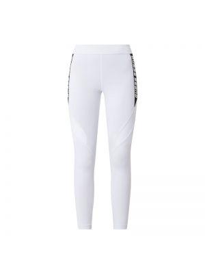 Białe legginsy z paskiem Guess Activewear