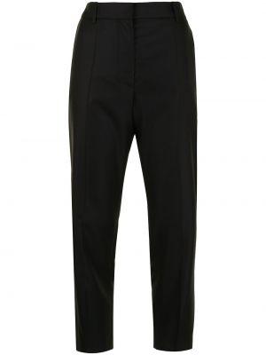 Черные укороченные брюки Joseph