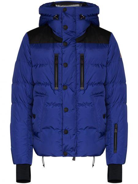 Niebieska kurtka Moncler Grenoble