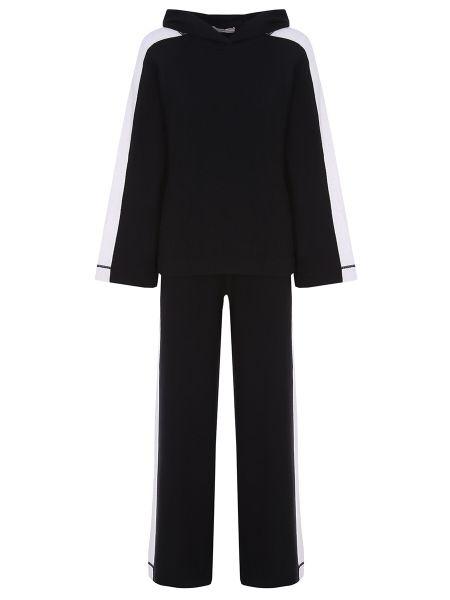 Кашемировый костюм - черный Tak.ori