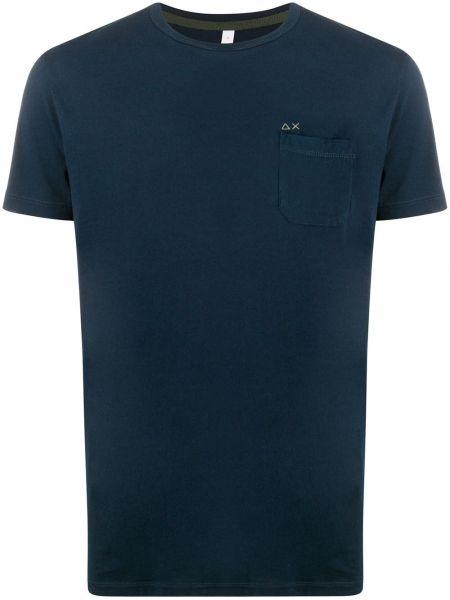 Koszula krótkie z krótkim rękawem z logo z kieszeniami Sun 68