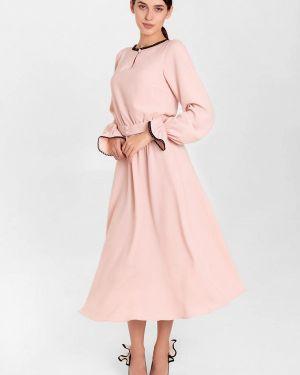Розовое вечернее платье Nai Lu-na By Anastasia Ivanova