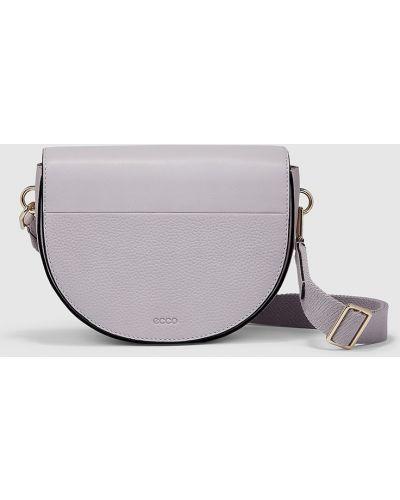 Кожаное боди - фиолетовое Ecco
