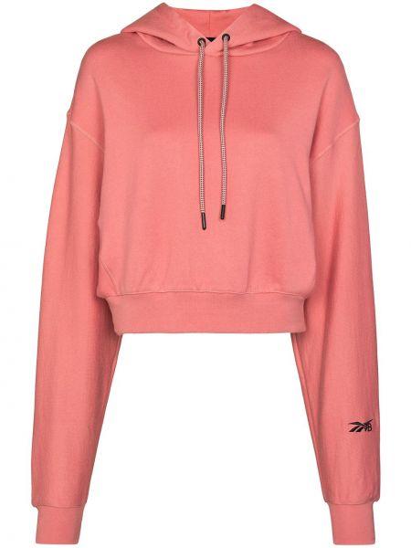 Худи длинное - розовое Reebok X Victoria Beckham