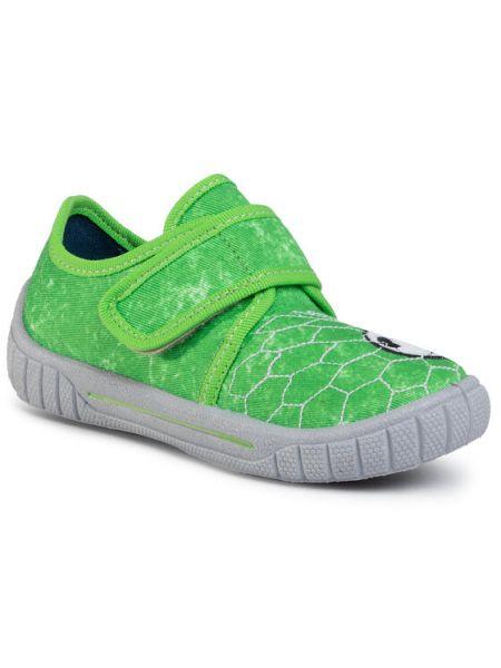 Zielone sandały Superfit