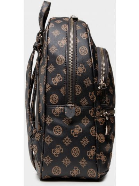 Рюкзак из экокожи - коричневый Guess
