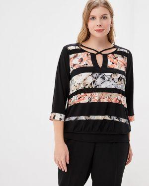 Блузка в полоску с поясом Dream World