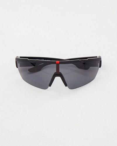 Черные солнцезащитные очки Prada Linea Rossa