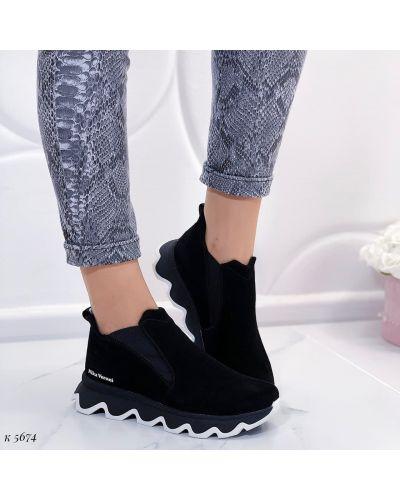 Ботинки - черные Nika Veroni