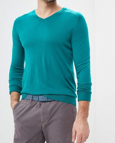 Бирюзовый пуловер United Colors Of Benetton