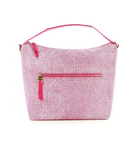 Różowa torebka Borbonese