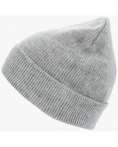 Серая шапка осенняя Zarina