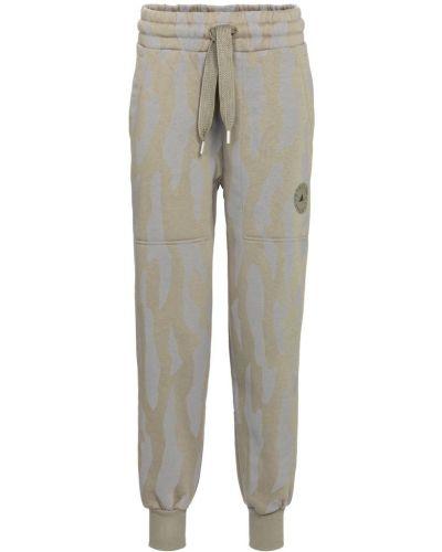 Szare spodnie do biegania Adidas By Stella Mccartney